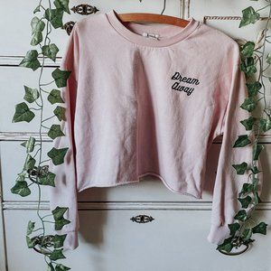 Forever 21 Light Pink Dream Away Pullover Sweater